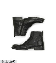 JFWRUSSEL LEATHER ANTHRACITE 19