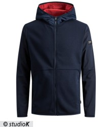 JCOTRICOT SWEAT ZIP HOOD
