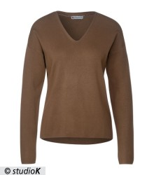 Softer Pullover in Unifarbe