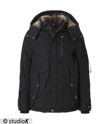 jacket with insert