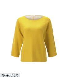 sweater batwing double face