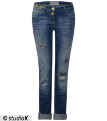 Heavy Used Denim Charlize
